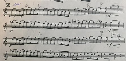 Ibert Oboe Three Pieces