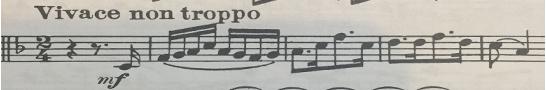 Mendelssohn Third Symphony oboe