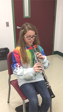 Students dont have to struggle with the oboe, if you know what to do.