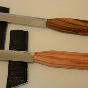 Chiarugi Double-Hollow-Ground Reed Knives