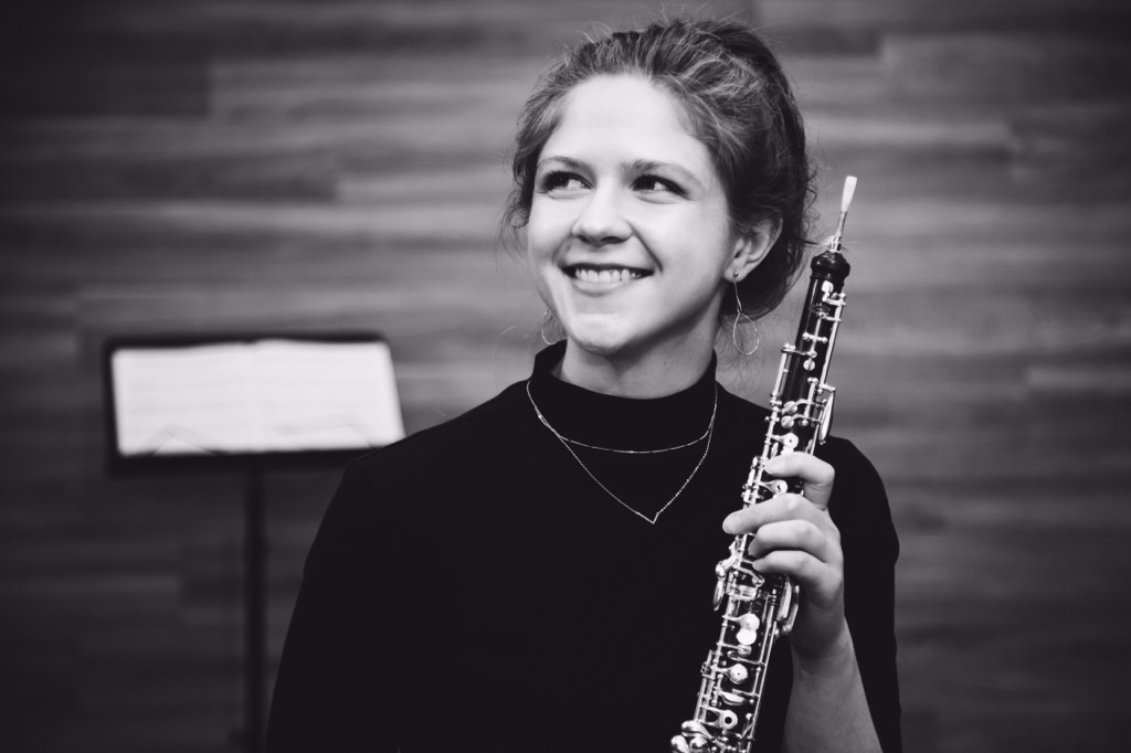 Lydia and her oboe!